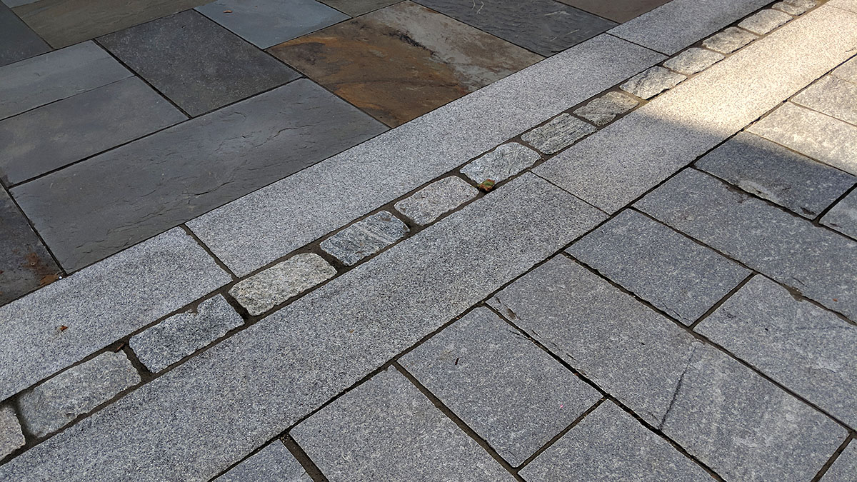 Bluestone, Granite Cobbbles, and Granite Pavers