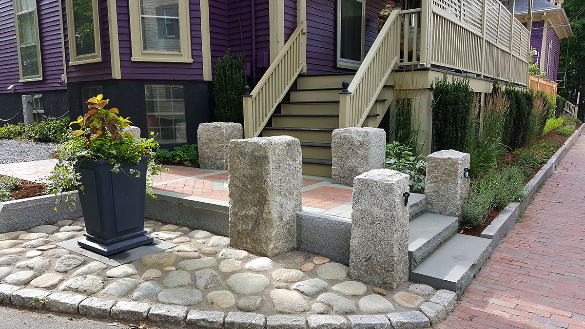 The Stone Selections Compliment the Historic Nature of the City