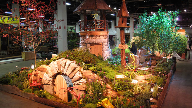"Boston Flower Show 2012. No ""Construction"" Photos Available."